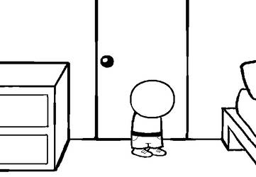 Homestuck Standing in Room Base 2 by loveableLawlsquid