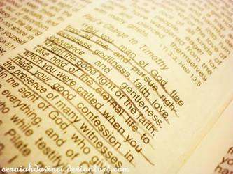 Pursuit of God by seraiahdavinci