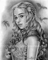 Daenerys Targaryen by pat-mcmichael