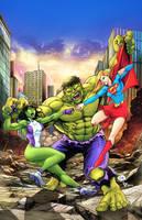 Portada comikaze hulks vs by HedwinZ89