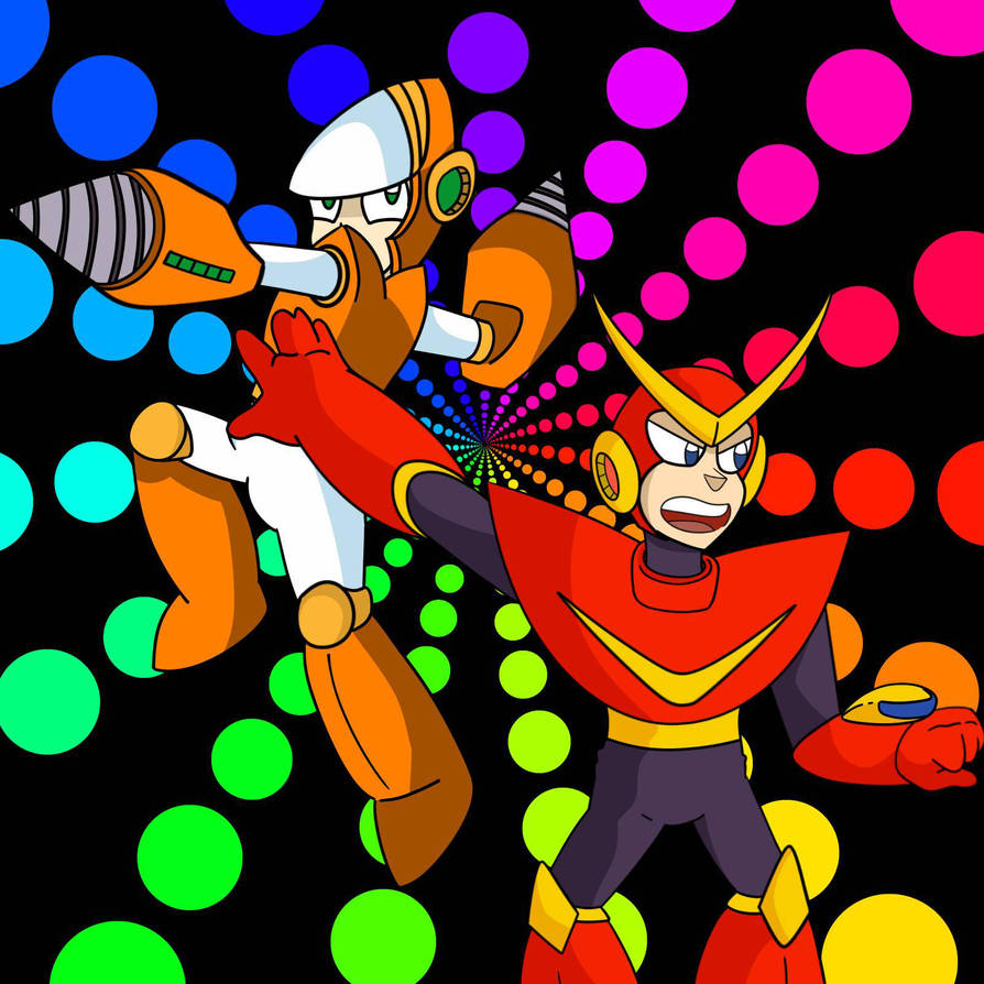 AT: Quickman and Crashman by JulezDraws