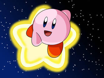 kirby by JulezDraws