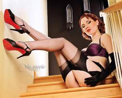 Upstairs with Angela Ryan by viamarie