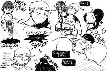 Doodle Dump: Venom by EpicMickeyX