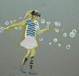 bubble blower by HeleneNekrashevich