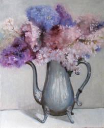 lilac by HeleneNekrashevich