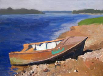 boat by HeleneNekrashevich