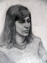 portrait by HeleneNekrashevich