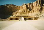 Deir el-Bahari by egyptians