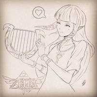 Princess Zelda by animao89