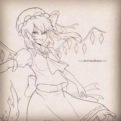 Flandre Scarlet by animao89