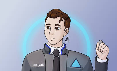 Connor by PikachuJenn
