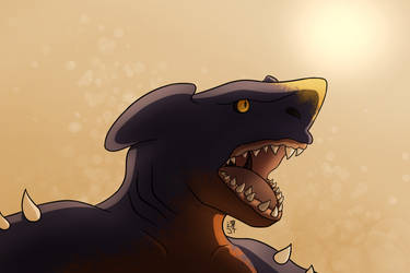 Desert Dragon by PikachuJenn
