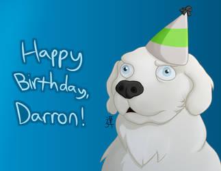 Birthday Dog by PikachuJenn