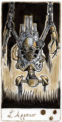 Steampunk Tarot: L'Appeso by OcioProduction