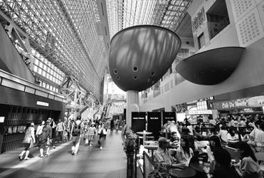 Kyoto Central Station by OcioProduction