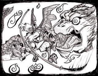 Ultimate fight -MrTengu by OcioProduction