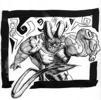 Inktober 2018 day 7   Demon ink by OcioProduction