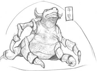 Ushi-Oni  by OcioProduction