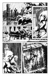 Winter Soldier #13 page 13 inks by BrianThies