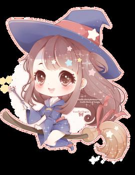 Little Witch Akko by Vanilla-Cherie