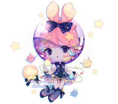 [CLOSED] Space Soda Fairy Vial - Adopt by Vanilla-Cherie