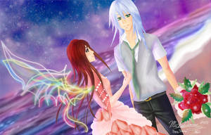 Gift: Riku and Her by yashima