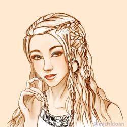 Norse Girl by yashima