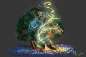 Tree of Seasons by yashima