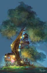 Tree House by yashima