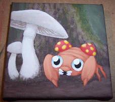 Paras and Mushrooms by Zenity