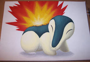 Choose Your Starter: Cyndaquil by Zenity