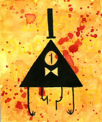 Bill Cipher: Dream Demon by Zenity