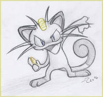 Meowth - Payday by Zenity