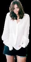 Jenna Coleman PNG by assjay