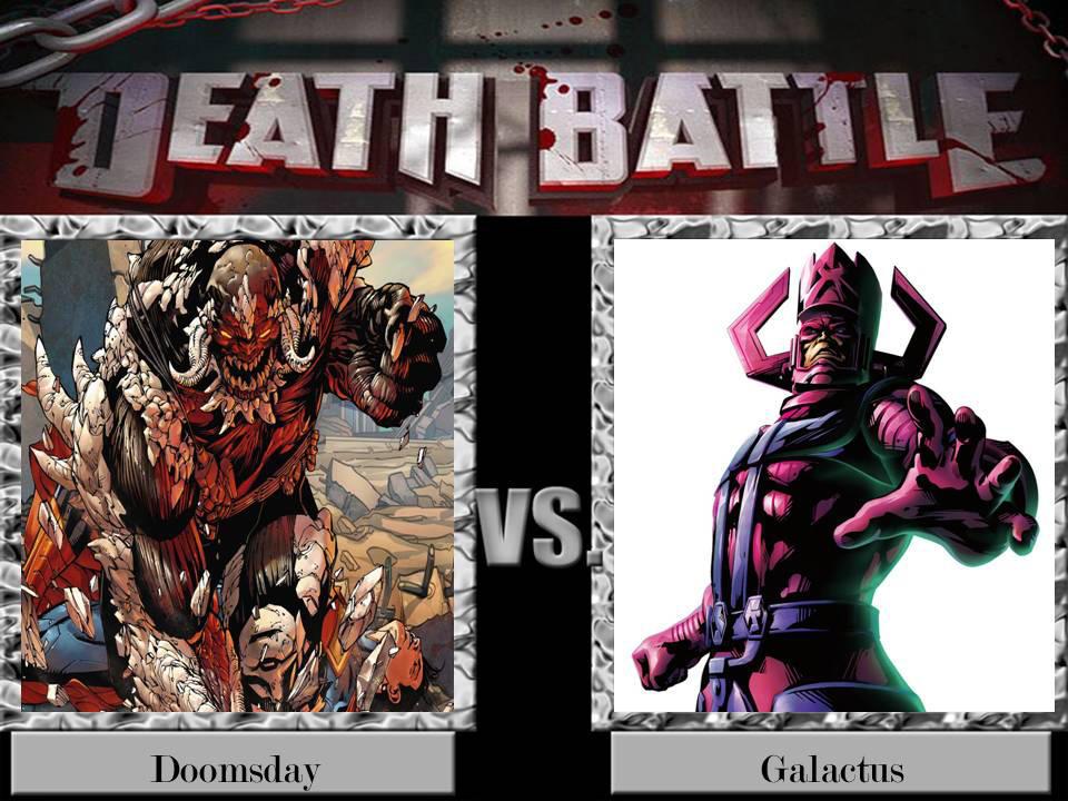 Death Battle Doomsday Vs Galactus By Jss2141 On Deviantart