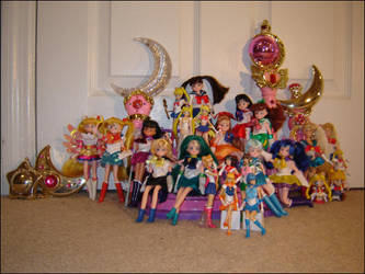 My Sailor Moon Collection by ShouYume