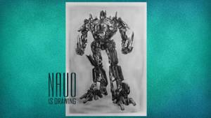 Optimus prime by nauoo