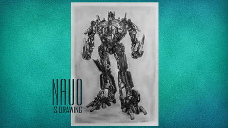 Optimus prime by nauoo