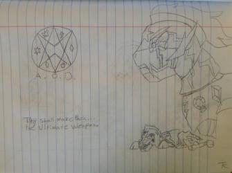 Age of Darktron teaser sketch by LionPatriot