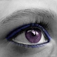 Purple eye by acrogenesis
