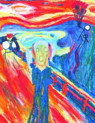 The scream by Calochortusalbus