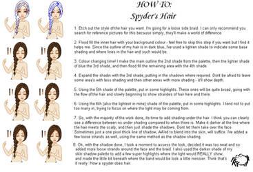 How To: Hair, Spyder's way by SpyderBryte