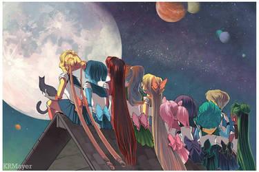 Sailor Moon by KRMayer
