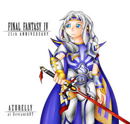 25th Anniversary of Final Fantasy IV by Azurelly