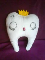 wisdom tooth plushie by FrealaF