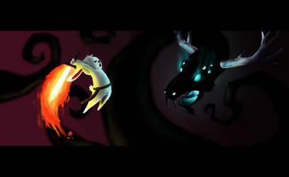 Epic Battle by FrealaF