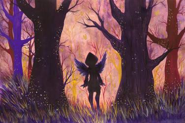 Fallen In Magic Woods by Aenglestern