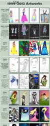 Art Improvement 1999 - 2012 by Aenglestern