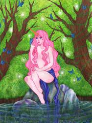 Unicorn Girl by Aenglestern